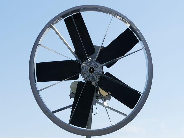 5 flgel windmaschine